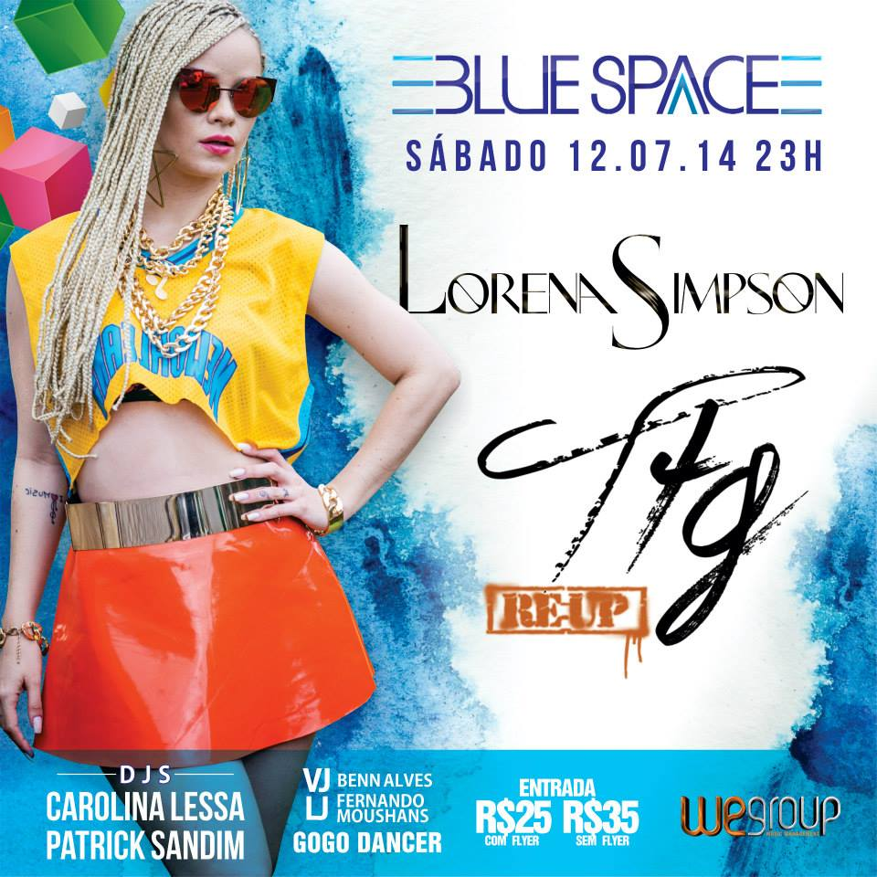 lorena simpson blue space