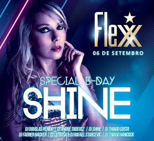 shine bday flexx