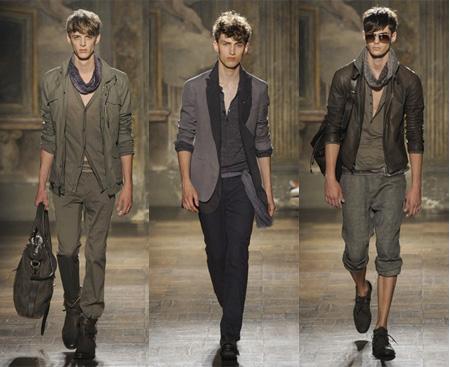 Tendência militar-moda masculina - foto reprodução internet